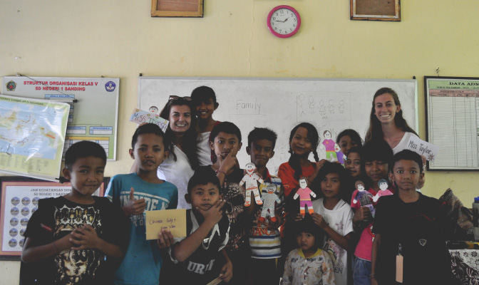 Volunteer in Bali with IVHQ on the Teaching Project