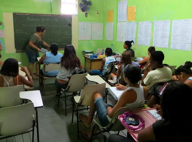 Volunteer teaching placement in Brazil with IVHQ