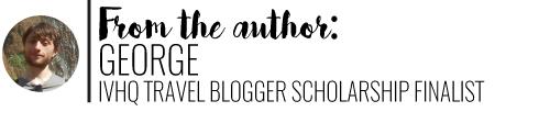 Author, George IVHQ Travel Blogger Scholarship